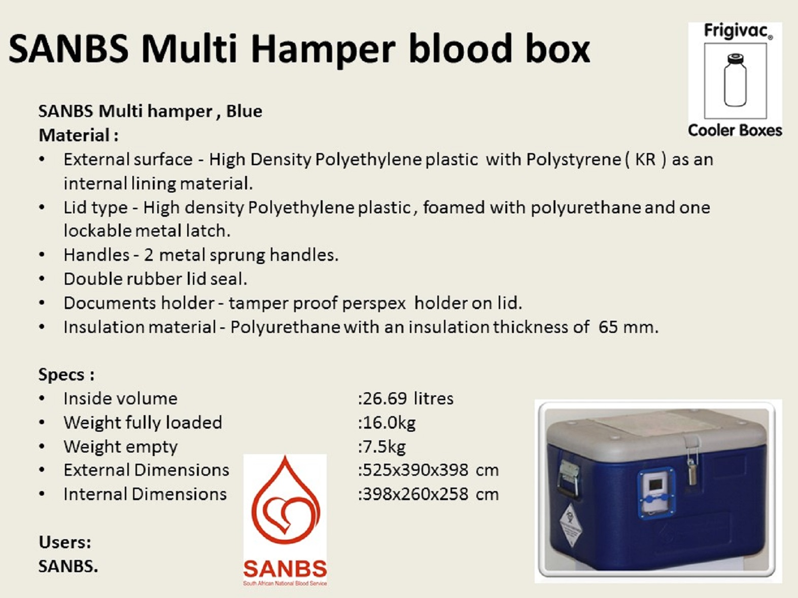 Multi Hamper Blood Box